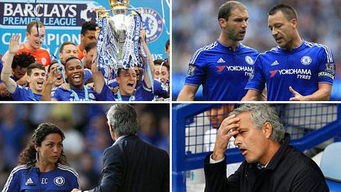 Chelsea sa sút không phanh kể từ sau ngày lên ngôi vô địch