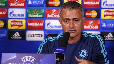 Mourinho sẽ thay đổi đội hình Chelsea trong trận ra quân Champions League