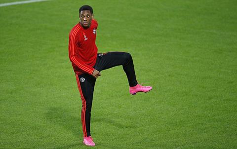 Martial đã được HLV Van Gaal đăng ký dự Champions League mùa này