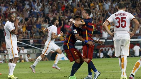 Roma khó có thể cản một Barca đang hừng hực khí thế ở trận đấu đêm nay