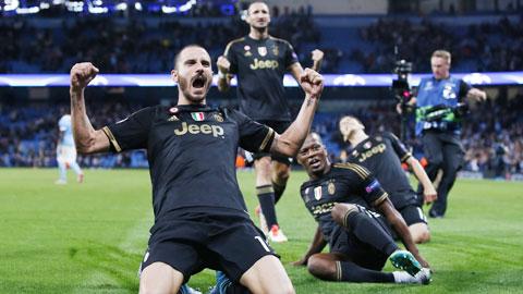 Juventus vẫn biết cách giành chiến thắng khi bất lợi đủ đường