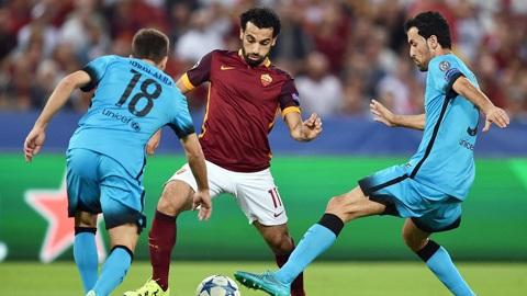 Barca thiếu may mắn khi bị Roma cầm chân