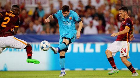 Messi trở thành cầu thủ trẻ nhất cán mốc 100 trận tại Champions League
