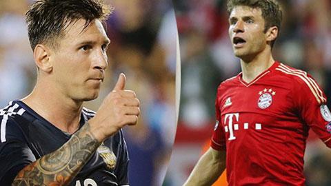 Những kỷ lục mới đã được Messi và Mueller thiết lập
