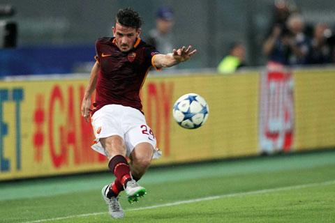 Alessandro Florenzi và bàn thắng để đời từ cú lốp bóng 55m vào lưới Barcelona