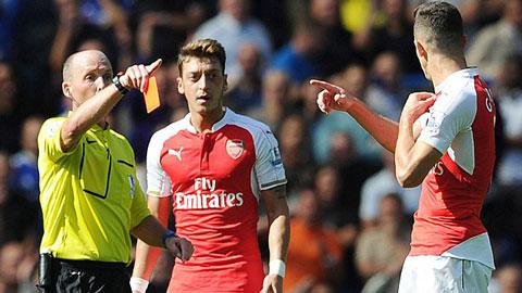 Arsenal một lần nữa gây thất vọng ở đại chiến