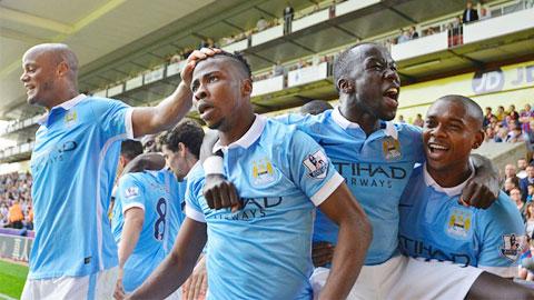 Man City đã toàn thắng ở 5 vòng đầu Premier League mùa này