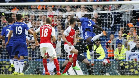 Chelsea đã giảm bớt được áp lực sau trận thắng quan trọng trước Arsenal