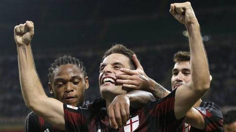 Bonaventura xứng đáng với vai trò hộ công trong đội hình của Milan