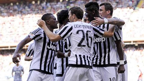 Juventus bỏ túi 3 điểm trước Genoa