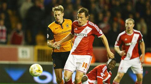 Middlesbrough vs Wolves