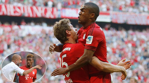 Những Coman (ảnh nhỏ) hay Costa đang mang đến sự tươi mới cho lối chơi của Bayern