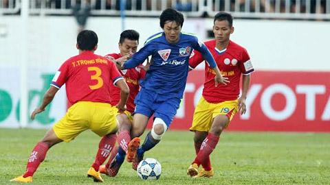 Nguyễn Tuấn Anh (HA.GL) là cầu thủ trẻ đáng xem nhất V.League 2015.