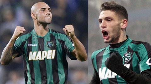 Zara nhiều khả năng sẽ phải rời Inter để nhường chỗ cho Berardi (phải)