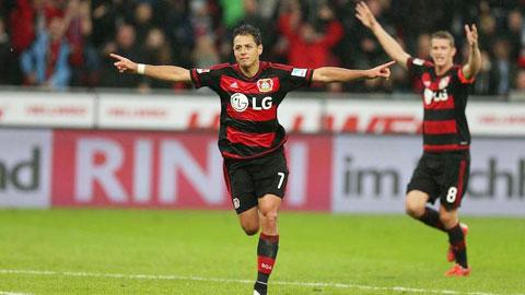 3 điểm là mục tiêu không khó khăn với Leverkusen