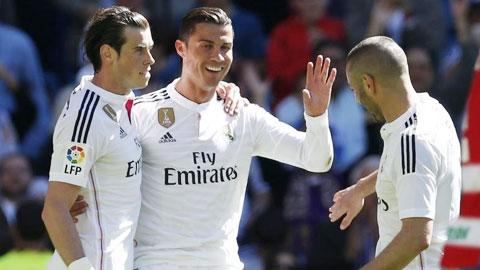 Những ngôi sao đắt giá như Bale và Ronaldo đang khiến quỹ lương của Real phình to