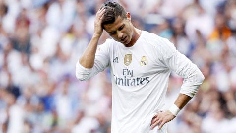 Ronaldo và đồng đội bất lực trước khung thành của Malaga