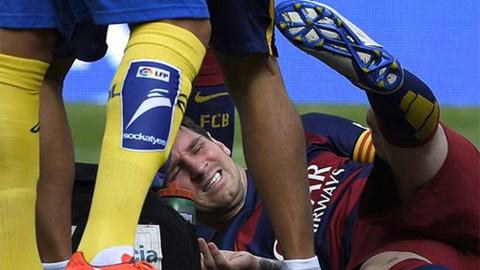 Messi sẽ phải ngồi ngoài khoảng 2 tháng