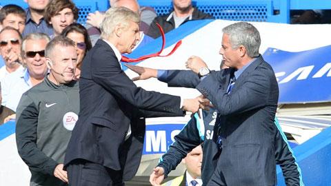 Để trút bỏ bực tức vì án phạt của học trò, Mourinho gửi những lời cay nghiệt đến Wenger