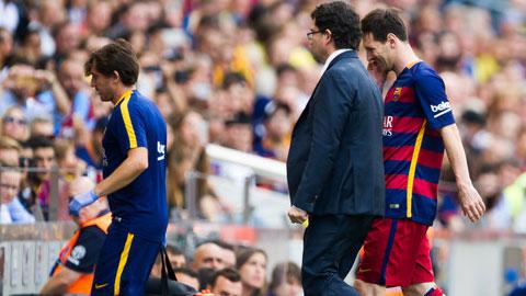 Messi sẽ nhận được phác đồ điều trị riêng