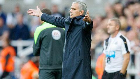 Mourinho rất không hài lòng về phong độ của các học trò
