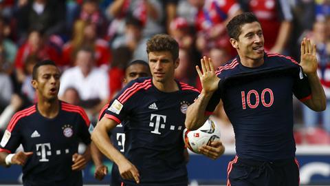 Phong độ của Bayern Munich thời gian gần đây rất ấn tượng