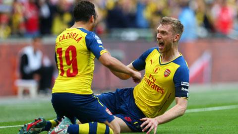 """Arsenal sẽ dội mưa """"gôn"""" vào lưới Olympiakos để tạo động lực cho trận đại chiến với M.U"""