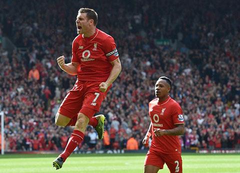 Milner mang đến sự ổn định cho tuyến giữa Liverpool