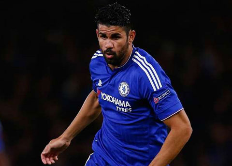 Diego Costa (Chelsea - 34,3km/h)