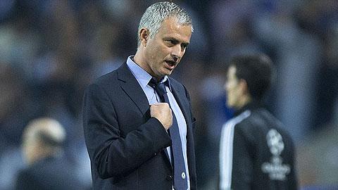 HLV Mourinho rất thất vọng về hàng thủ Chelsea