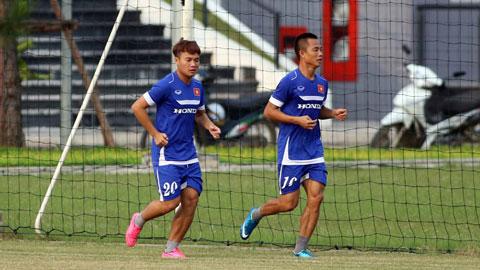 Hình ảnh: ĐT Việt Nam thi đấu nội bộ: Liên tục hoán đổi vị trí và thử nghiệm số 2