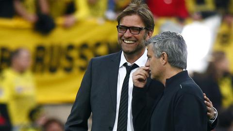 Mourinho, Van Gaal và nhiều HLV danh tiếng khác đều từng là bại tướng của Klopp