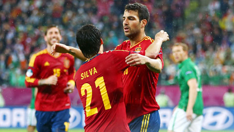 ĐT Tây Ban Nha tiếp tục chứng tỏ sức mạnh vượt trội ở vòng loại EURO 2016