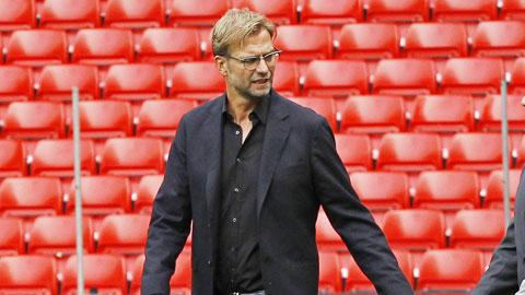 Với mức lương 7 triệu bảng/năm, HLV Klopp đang chịu áp lực cực lớn tại Liverpool