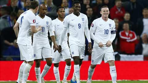 Dù tuổi đời còn trẻ nhưng các tuyển thủ Anh đã thể hiện sự chín chắn tại vòng loại EURO 2016