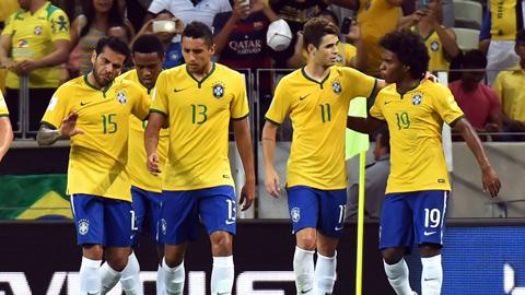 Brazil giành chiến thắng thuyết phục trước Venezuela