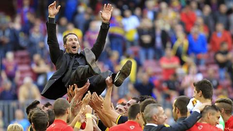 HLV Simeone gây ấn tượng tại Atletico với một lối đá khoa học, hiệu quả