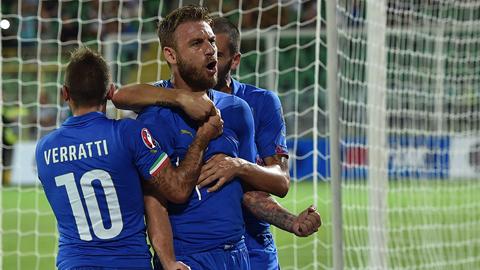 ĐT Italia đã chơi khá thành công ở vòng loại EURO 2016