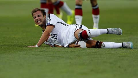 Bão chấn thương quét qua Bundesliga