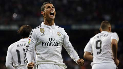 Ronaldo nhận lương cao nhất La Liga