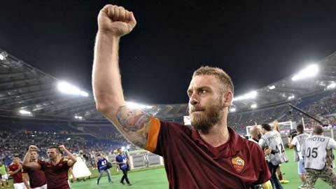 De Rossi hướng đến mốc 500 trận cho Roma: Người đội phó bền bỉ