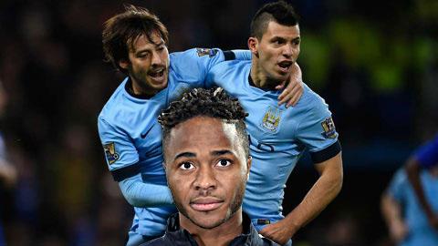 Vắng Aguero và Silva, đến lúc Man City cần Sterling lên tiếng