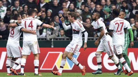 Toàn thắng 9 trận, Bayern đi vào lịch sử Bundesliga