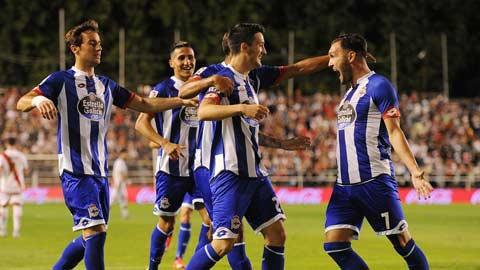 01h30 ngày 19/10: Deportivo vs Bilbao
