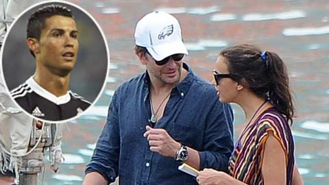 Irina Shayk lại mỉa mai Ronaldo