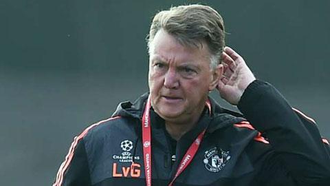 Van Gaal tin M.U đang gặp thiệt thòi trước trận derby Manchester