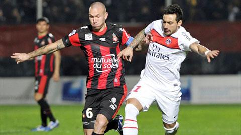01h00 ngày 25/10: GFC Ajaccio vs Nice