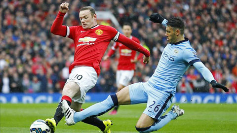 Nếu thắng Man City, Rooney và đồng đội có thể tự tin hướng tới chức vô địch Premier League
