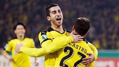 Dortmund không chỉ có Aubameyang