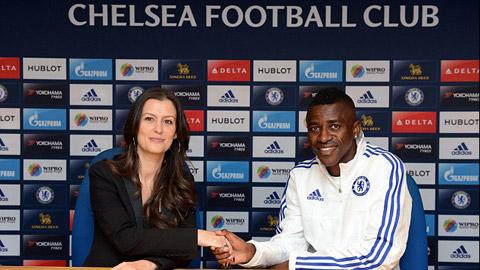 Ramires cam kết tương lai với Chelsea